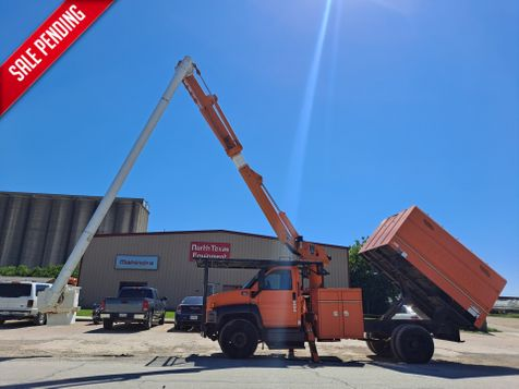 2009 GMC C7500 60' ALTEC FORESTRY BUCKET TRUCK in Fort Worth, TX