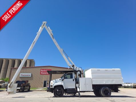 2009 GMC C7500 FORESTRY  60' HI-RANGER BUCKET TRUCK in Fort Worth, TX
