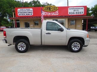 2009 GMC Sierra 1500 Work Truck | Fort Worth, TX | Cornelius Motor Sales in Fort Worth TX