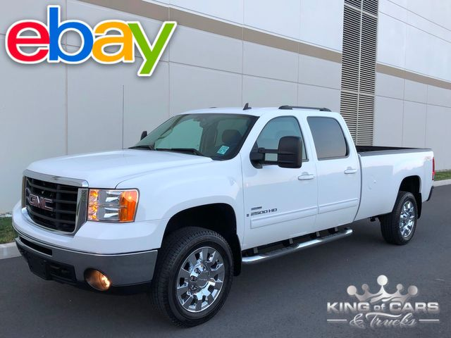 2009 Gmc Sierra 2500 Hd HD SLT CREW 8' BED 6.6L DURAMAX PREDEF ONLY 29K MILES in Woodbury, New Jersey 08096
