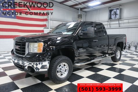 2009 GMC Sierra 2500HD SLE 4x4 Diesel Allison Extended Cab Black Cloth in Searcy, AR