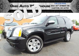 2009 GMC Yukon SLT 4x4 Nav Tv/DVD Sunroof Clean Carfax We Finance | Canton, Ohio | Ohio Auto Warehouse LLC in  Ohio
