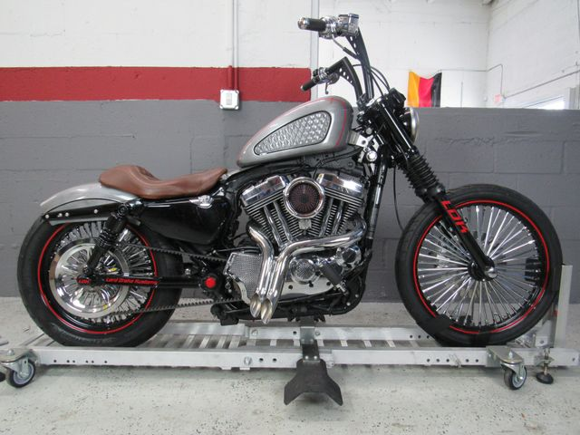 2009 Harley Davidson Sportster 1200 Custom (Rusty Rush) in Dania Beach , Florida 33004