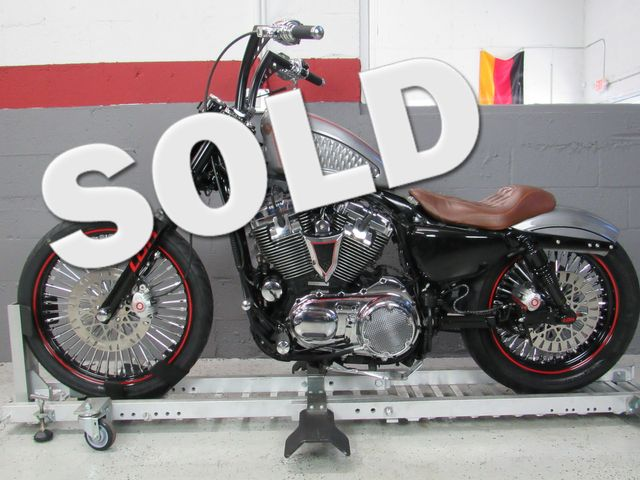 2009 Harley Davidson Sportster 1200 Custom in Dania Beach , Florida 33004