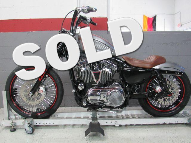 2009 Harley Davidson Sportster 1200 Custom (Rusty Rush)