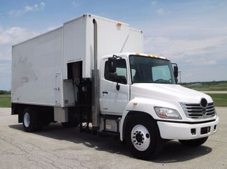 2009 Hino 338 CAB AND CHASSIS 121K MI PAPER COLECTOR Lake In The Hills, IL