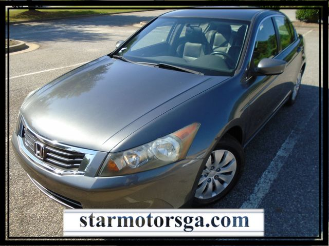 2009 Honda Accord LX with LEATHER INTERIOR