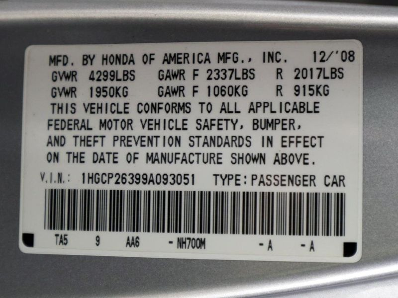2009 Honda Accord LX  city Ohio  North Coast Auto Mall of Cleveland  in Cleveland, Ohio