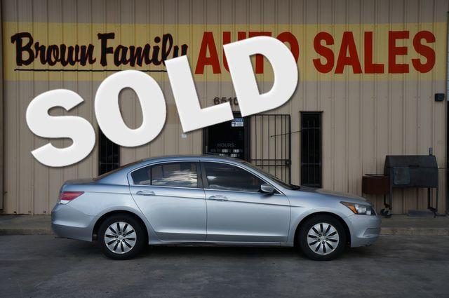 2009 Honda Accord LX   Houston, TX   Brown Family Auto Sales in Houston TX