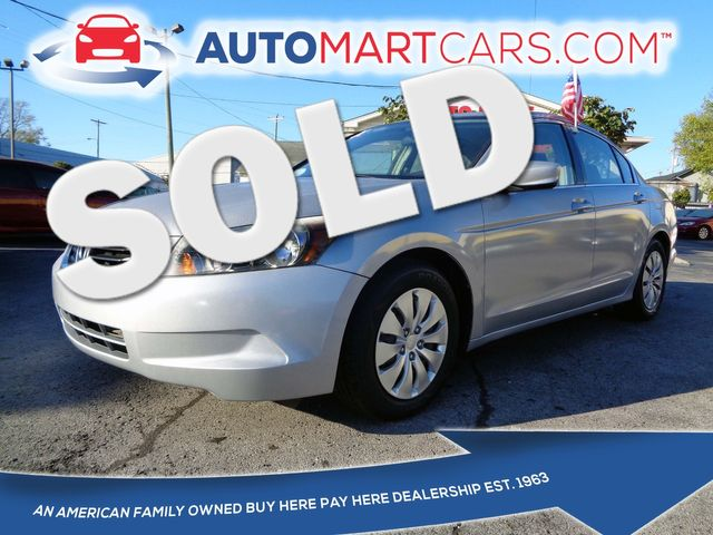2009 Honda Accord LX | Nashville, Tennessee | Auto Mart Used Cars Inc. in Nashville Tennessee