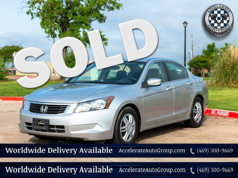2009 Honda Accord LX in Rowlett Texas