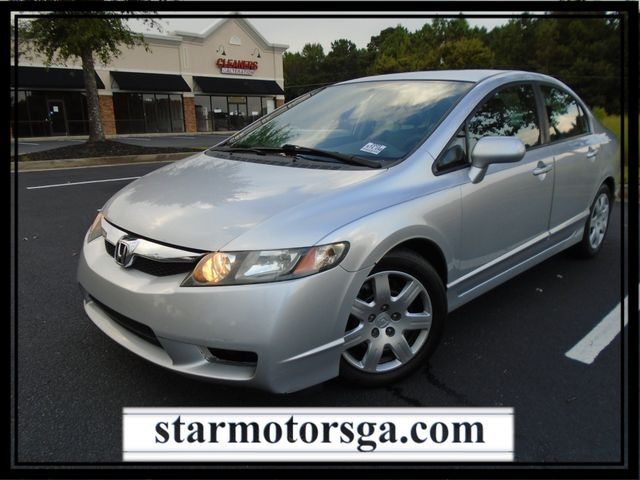 2009 Honda Civic LX with LEATHER INTERIOR