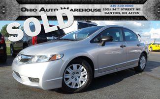 2009 Honda Civic DX Sedan 1-Owner 50K Low Miles We Finance | Canton, Ohio | Ohio Auto Warehouse LLC in  Ohio