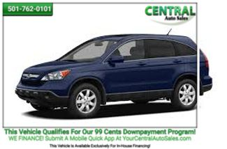 2009 Honda CR-V LX   Hot Springs, AR   Central Auto Sales in Hot Springs AR