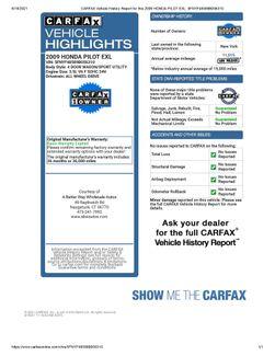 2009 Honda Pilot EX-L 4WD Naugatuck, Connecticut 1