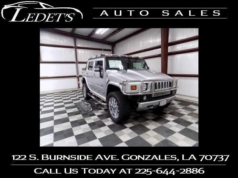 2009 Hummer H2 SUT Luxury - Ledet's Auto Sales Gonzales_state_zip in Gonzales Louisiana