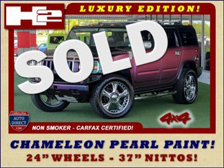 "2009 Hummer H2 SUV Luxury 4x4 - CHAMELEON PAINT-24"" WHEELS! Mooresville , NC"