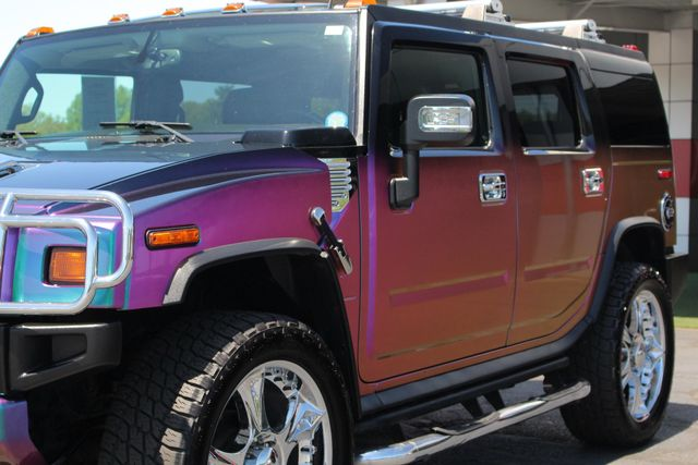 "2009 Hummer H2 SUV Luxury 4x4 - CHAMELEON PAINT-24"" WHEELS! Mooresville , NC 27"