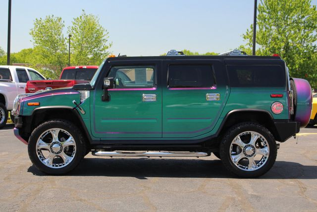 "2009 Hummer H2 SUV Luxury 4x4 - CHAMELEON PAINT-24"" WHEELS! Mooresville , NC 17"