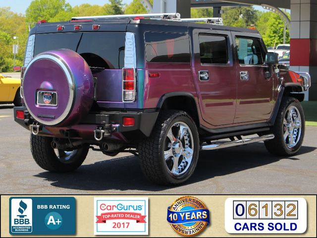 "2009 Hummer H2 SUV Luxury 4x4 - CHAMELEON PAINT-24"" WHEELS! Mooresville , NC 2"