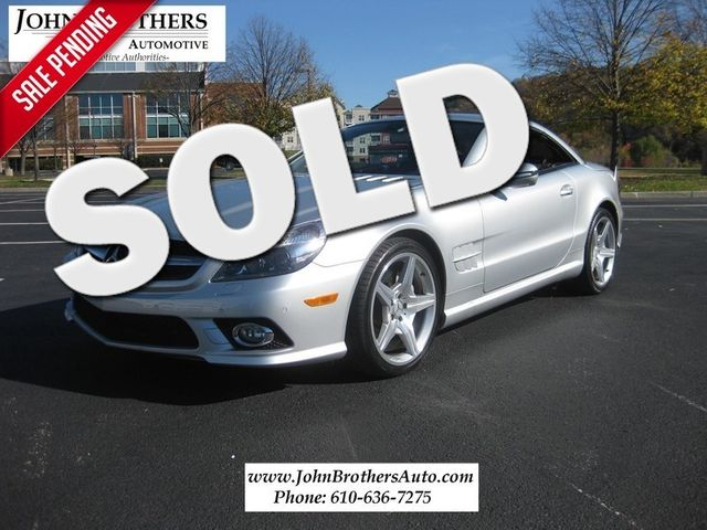 2009 Sold Mercedes-Benz SL550 V8 Conshohocken, Pennsylvania
