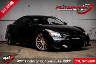 2009 Infiniti G37 Sport IPL Body Kit Lowered on Vossen Wheels in Addison, TX 75001