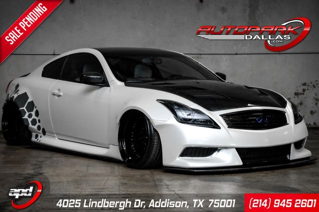 2009 Infiniti G37 WideBody on AirLift Suspension *SHOW BUILD* in Addison, TX 75001
