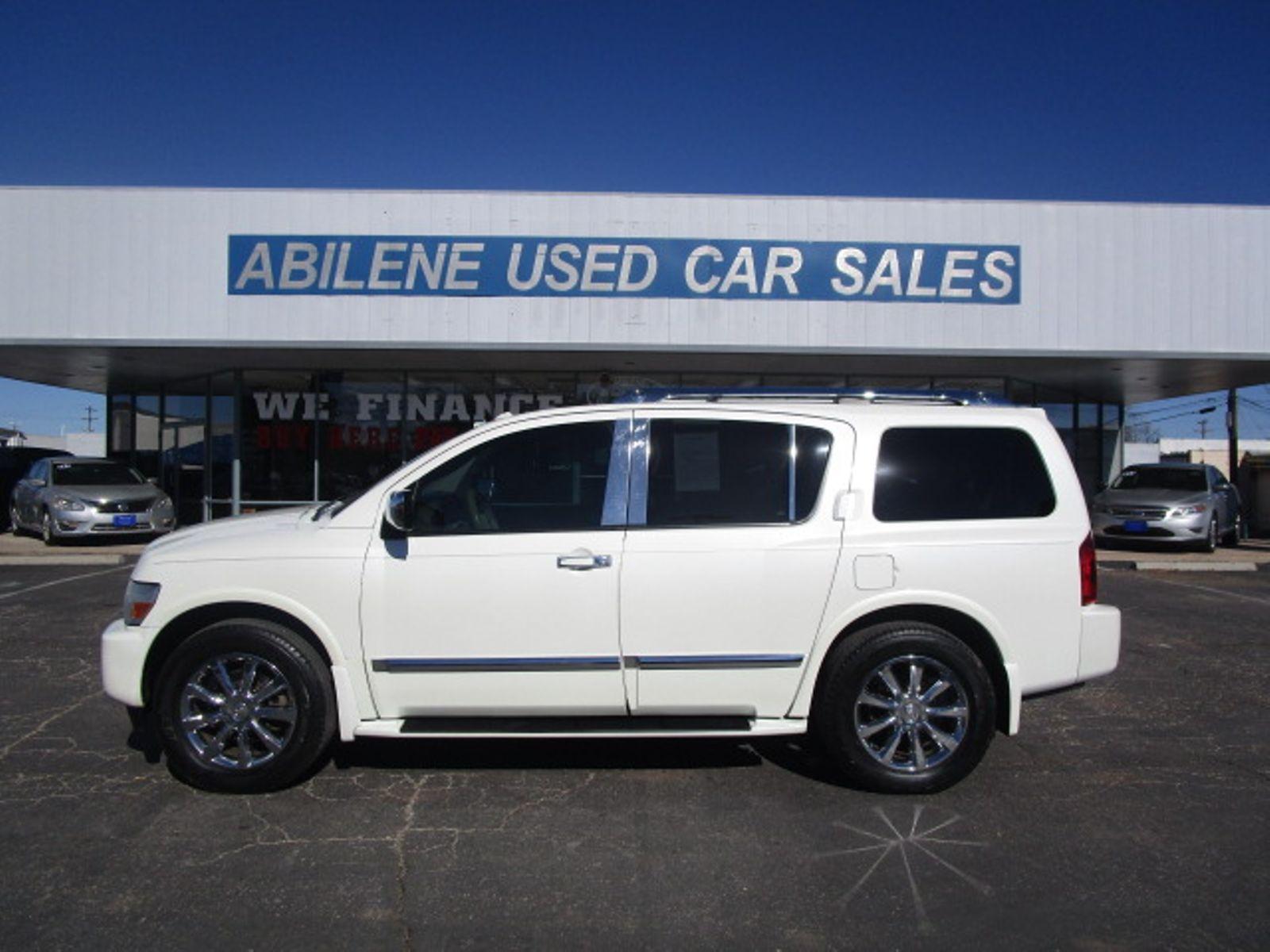 2009 Infiniti Qx56 Abilene Tx Abilene Used Car Sales