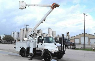 2009 International 4300 55FT TEREX INSULATED BOOM  in Fort Worth, TX