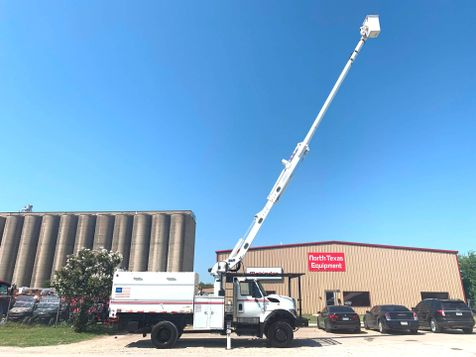2009 International 7300 FORESTRY BUCKET TRUCK  in Fort Worth, TX