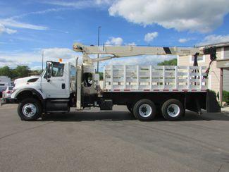 2009 International Workstar 7600 Cummins Flatbed Crane Truck   St Cloud MN  NorthStar Truck Sales  in St Cloud, MN