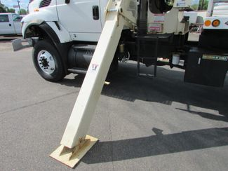 2009 International Workstar 7600 Cummins Flatbed Crane Truck   St Cloud MN  NorthStar Truck Sales  in St Cloud, MN