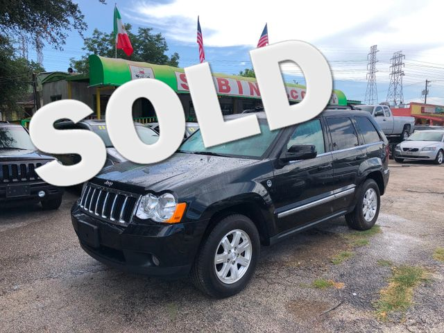 2009 Jeep Grand Cherokee Limited Houston, TX 0
