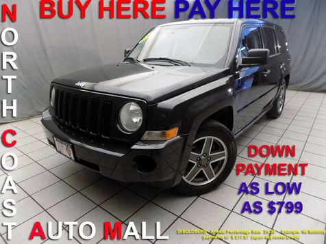 2009 Jeep Patriot Sport As low as $799 DOWN in Cleveland, Ohio