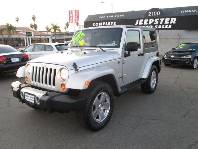 2009 Jeep Wrangler Sahara 4X4