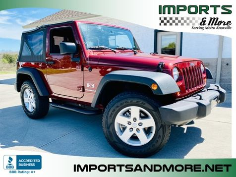 2009 Jeep Wrangler X 4wd 2dr. in Lenoir City, TN