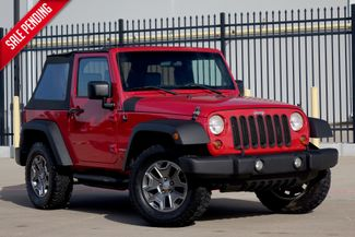 2009 Jeep Wrangler X* Auto* Soft Top* 4x4* Only 94k* EZ Finance** | Plano, TX | Carrick's Autos in Plano TX