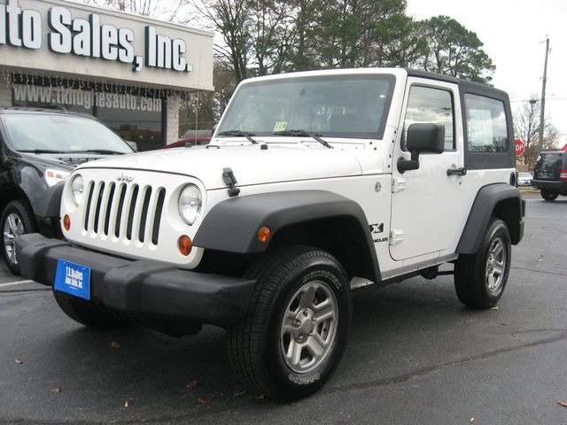 2009 Jeep Wrangler X 4X4 Richmond, Virginia 1