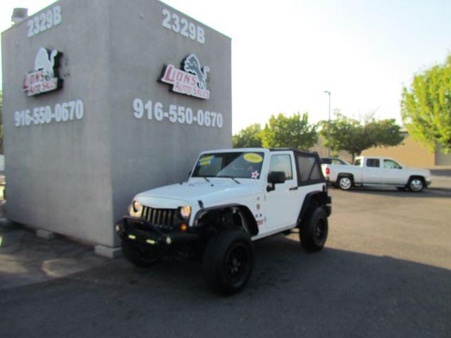 2009 Jeep Wrangler X in Sacramento, CA 95825