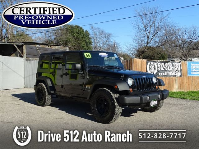2009 Jeep Wrangler Unlimited X in Austin, TX 78745
