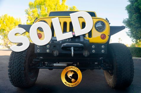 2009 Jeep Wrangler Unlimited Rubicon in cathedral city