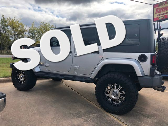 2009 Jeep Wrangler Unlimited Sahara | Greenville, TX | Barrow Motors in Greenville TX