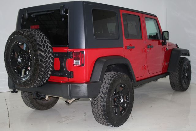2009 Jeep Wrangler Unlimited Rubicon Houston, Texas 13