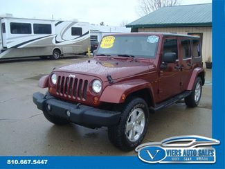 2009 Jeep Wrangler Unlimited Sahara 4x4 in Lapeer, MI 48446