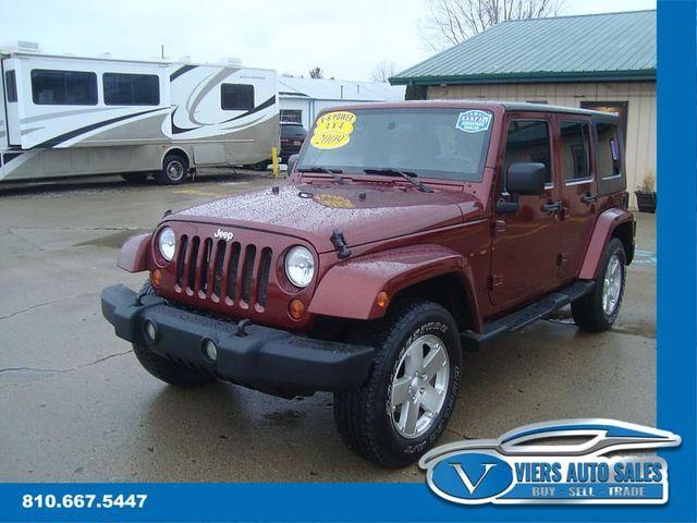 2009 Jeep Wrangler Unlimited Sahara 4x4