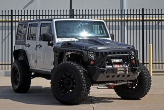 2009 Jeep Wrangler Rubicon Unlimited Rubicon*Lifted*Custom Wheels*Hard Top* | Plano, TX | Carrick's Autos in Plano TX
