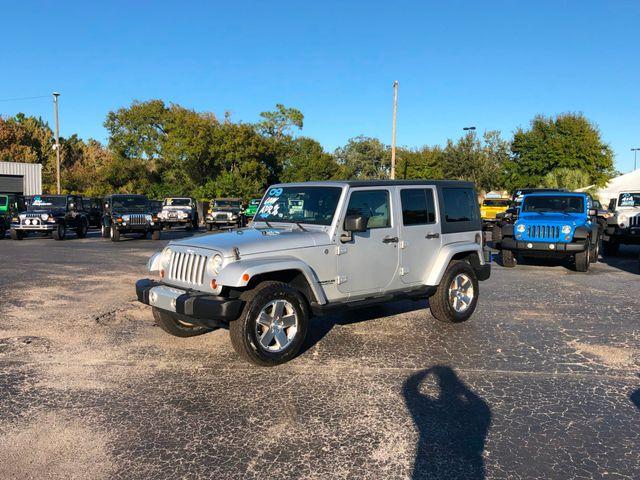 2009 Jeep Wrangler Unlimited Sahara Riverview, Florida 12