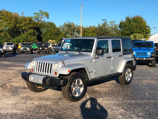 2009 Jeep Wrangler Unlimited Sahara Riverview, Florida 14