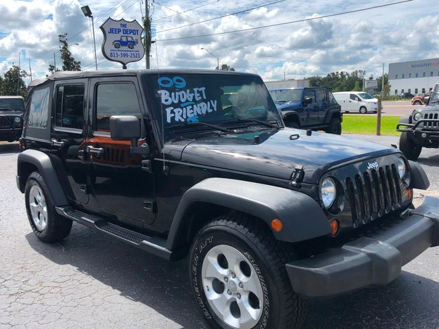 2009 Jeep Wrangler Unlimited X Riverview, Florida 2
