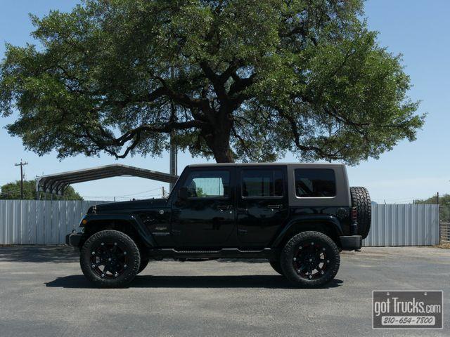 2009 Jeep Wrangler Unlimited Sahara 3.8L 4X4